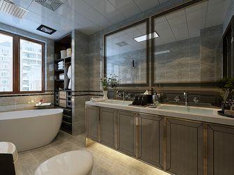 120平米三室两厅港式风格卫生间装修案例