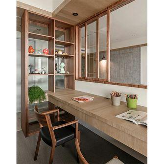 10-15万110平米三室两厅日式风格书房图
