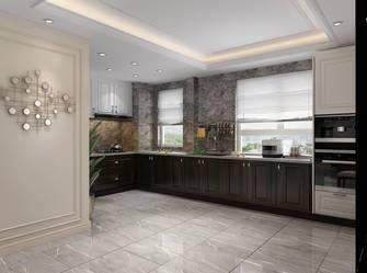 富裕型140平米三室三厅美式风格餐厅欣赏图