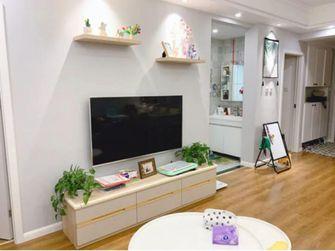 富裕型90平米三北欧风格客厅装修图片大全