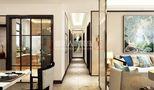 120平米三室一厅中式风格走廊效果图