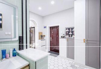 5-10万60平米三室两厅北欧风格玄关欣赏图