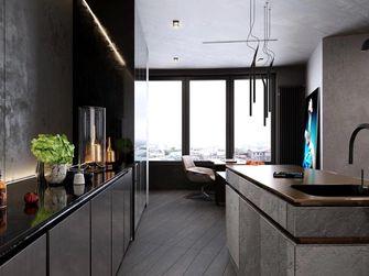 10-15万90平米工业风风格厨房装修效果图