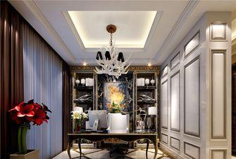140平米三室一厅欧式风格书房图片