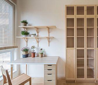 豪华型120平米四室两厅日式风格书房设计图
