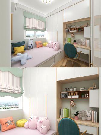 豪华型140平米四室一厅北欧风格青少年房效果图