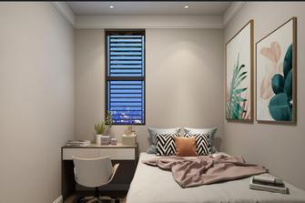 豪华型80平米复式现代简约风格卧室效果图