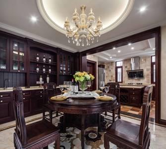 20万以上140平米别墅新古典风格餐厅装修图片大全