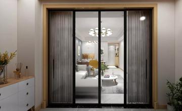 90平米三室一厅北欧风格阳台效果图