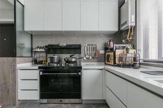 经济型70平米公寓现代简约风格厨房装修效果图