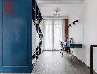 富裕型140平米复式美式风格书房设计图