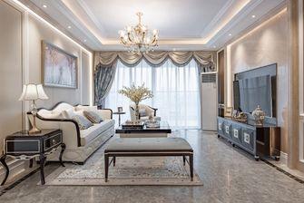 130平米四欧式风格客厅装修案例