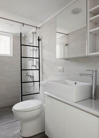 经济型30平米小户型现代简约风格卫生间设计图