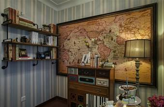 富裕型120平米三室一厅田园风格客厅效果图
