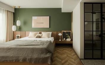 130平米三混搭风格卧室效果图