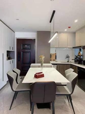 80平米港式风格厨房装修图片大全