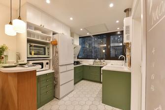 5-10万80平米三室两厅日式风格厨房图片大全
