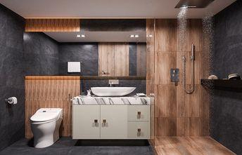 富裕型120平米三室两厅轻奢风格卫生间图片