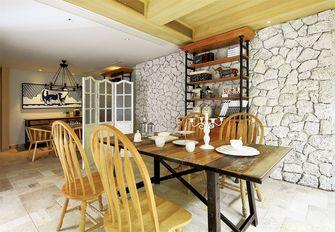 5-10万50平米复式东南亚风格餐厅设计图