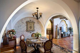 140平米别墅混搭风格餐厅设计图