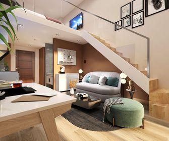 40平米小户型公装风格卧室装修案例