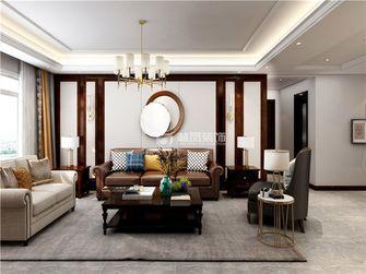 富裕型140平米三美式风格客厅装修案例