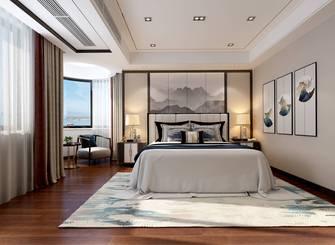 140平米中式风格卧室设计图
