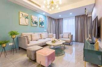 15-20万90平米三室三厅轻奢风格客厅图