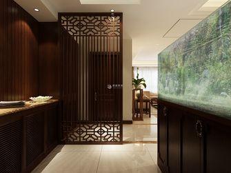 5-10万140平米四中式风格玄关设计图