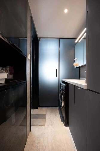 豪华型120平米三室两厅现代简约风格储藏室装修图片大全