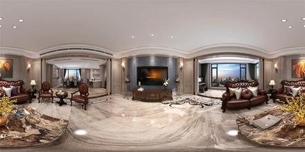 140平米四欧式风格客厅图片大全