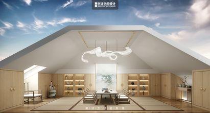 豪华型140平米别墅轻奢风格阁楼装修效果图