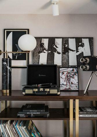 豪华型60平米复式现代简约风格影音室装修案例