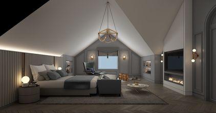 豪华型140平米别墅法式风格阁楼图片大全