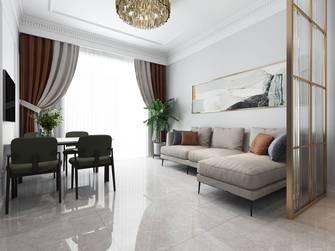 豪华型60平米公寓法式风格客厅效果图