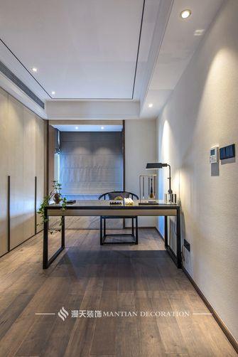 5-10万120平米三室两厅中式风格书房装修案例