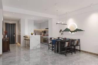 3万以下140平米三室两厅中式风格餐厅装修图片大全