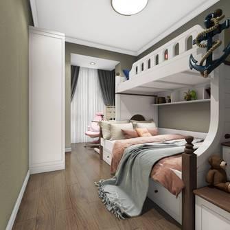110平米三室三厅美式风格卧室效果图