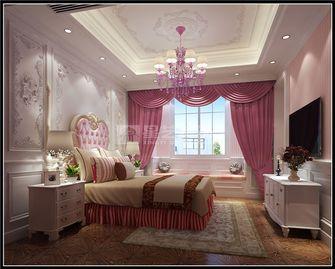140平米别墅田园风格卧室图片大全
