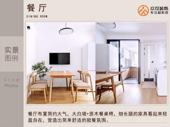 5-10万50平米公寓日式风格餐厅效果图