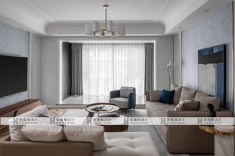 20万以上140平米三室三厅混搭风格客厅图片