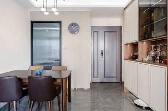 富裕型80平米三室两厅中式风格餐厅装修效果图