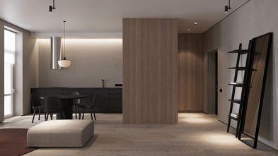 90平米一室一厅日式风格客厅图片