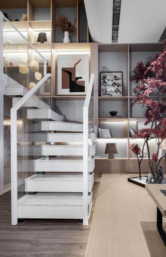 60平米公寓日式风格楼梯间装修效果图