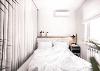 经济型50平米一室一厅混搭风格卧室设计图