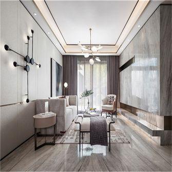 富裕型140平米复式北欧风格客厅欣赏图