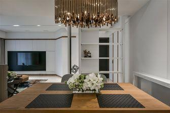 经济型60平米一室两厅现代简约风格餐厅图片大全