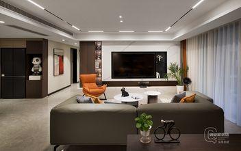 10-15万140平米三室两厅现代简约风格客厅欣赏图