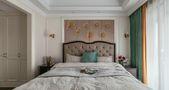 富裕型130平米田园风格卧室设计图