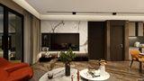 豪华型110平米三室两厅轻奢风格客厅欣赏图
